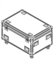 ALEDA K10 4-Way Flightcase