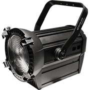 LED Fresnel W/W DMX Zoom