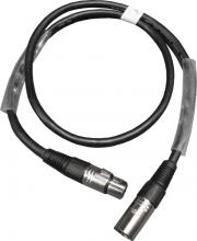 Pro Shop DMX Cable 1m 3pin