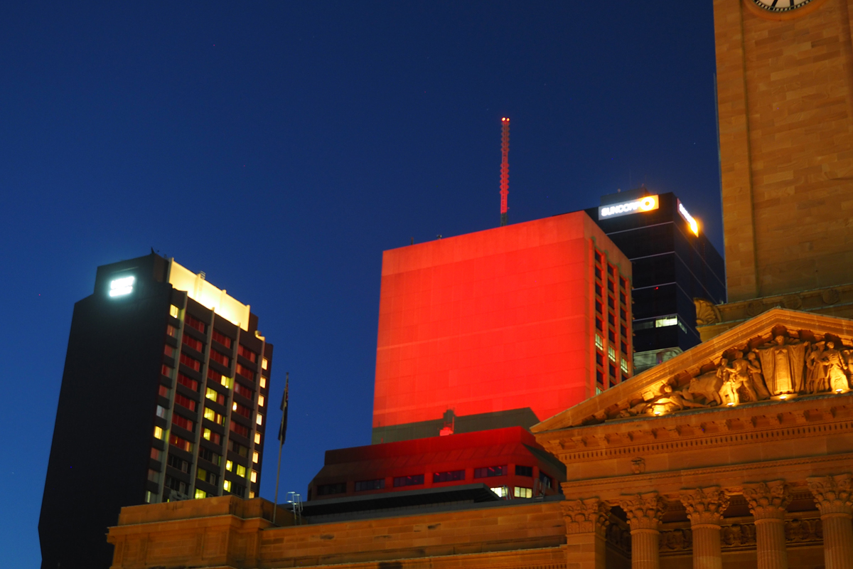 Brisbane City Council City of Lights Project