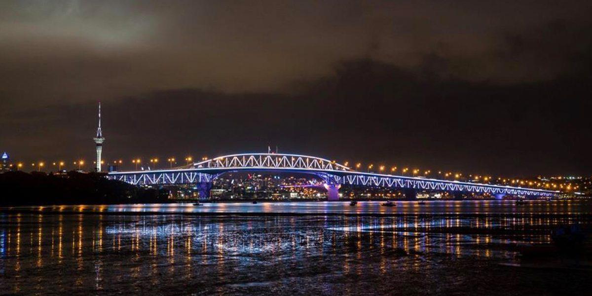 Auckland Harbour Bridge Show Technology Australia