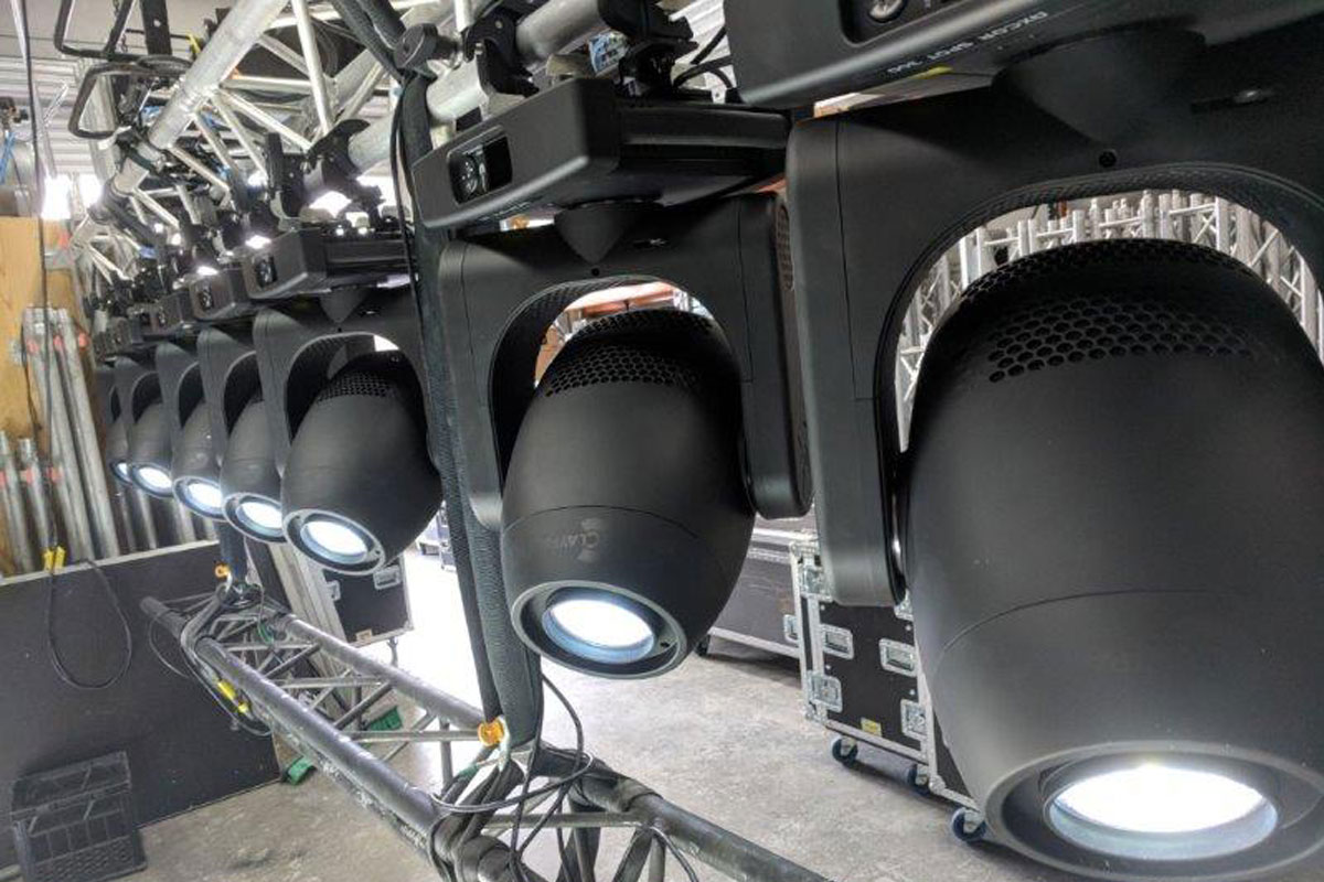 Claypaky Axcor Spot 300's arrive with punch at Jay Productions