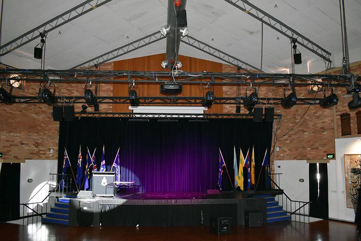 MA onPC command wing goes on tour