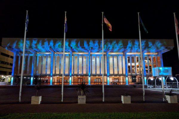Martin transforms façade of Perth Concert Hall