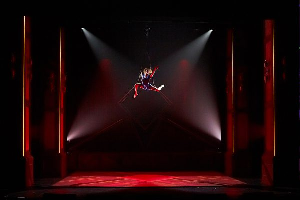 """Cirque Eloize's """"Hotel"""" Goes on Tour with Claypaky Axcor Spot 300 Moving LED Fixtures"""