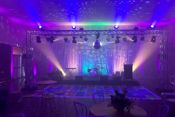 EventSound set up with ease with ShowPRO