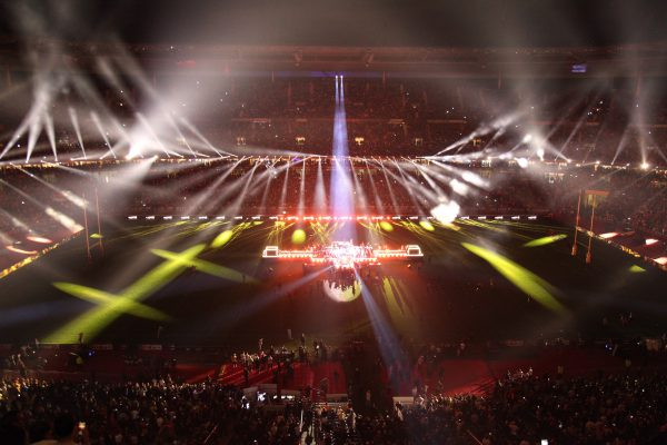 Claypaky Fixtures Shine as Hip-Hop Duo Bigflo & Oli Closes France's Top 14 Rugby Finals