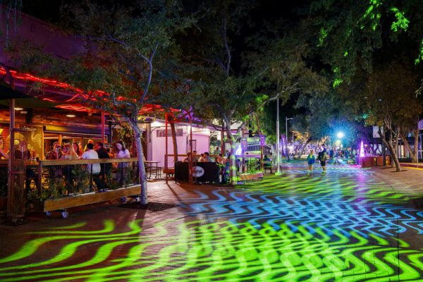 Auroras Invigorate Alice Springs' Mall