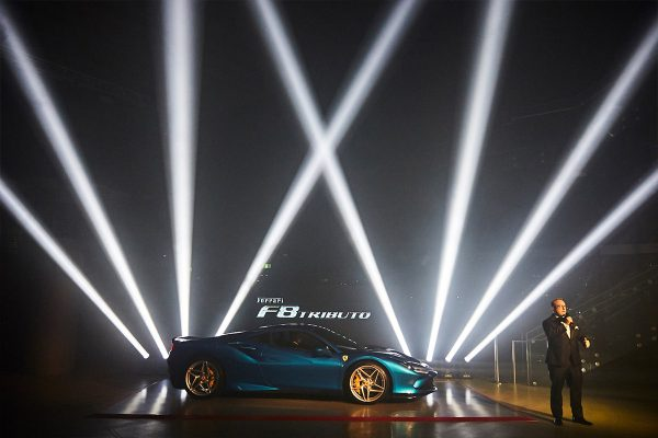 Ferrari F8 Tributo Launch