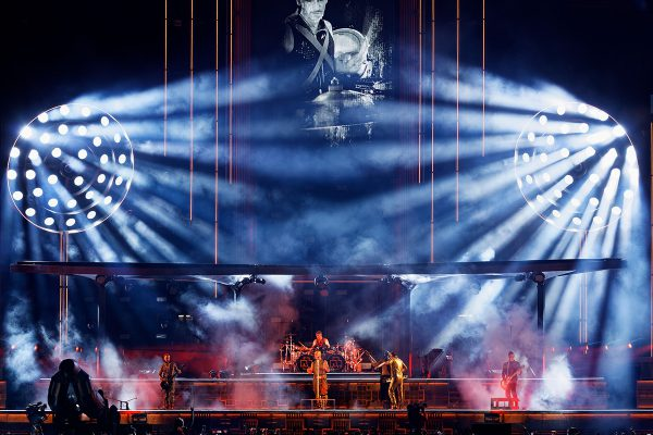 Large Complement of Claypaky Fixtures Shine on Rammstein's 2019 European Stadium Tour