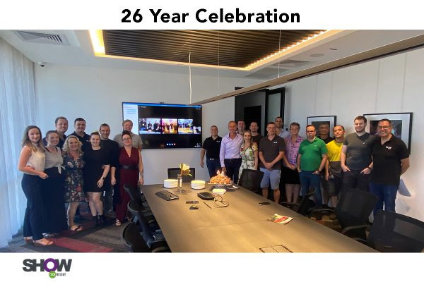 Show Technology Celebrates 26 Years of Service