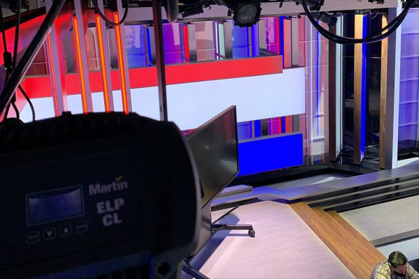 CNBC Equips New Studio B Set With More Than 250 Martin LED Lighting Fixtures for The News With Shepard Smith