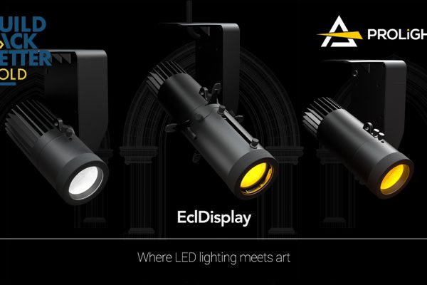 EclDisplay by PROLIGHTS wins Build Back Better gold award